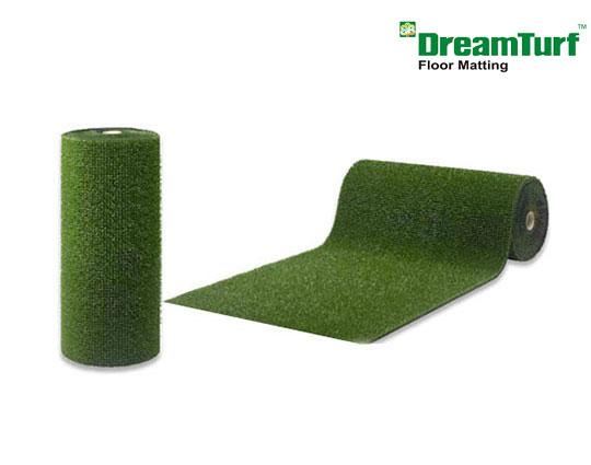 lifestyle artificial on green grass off mat only roll perfect mats