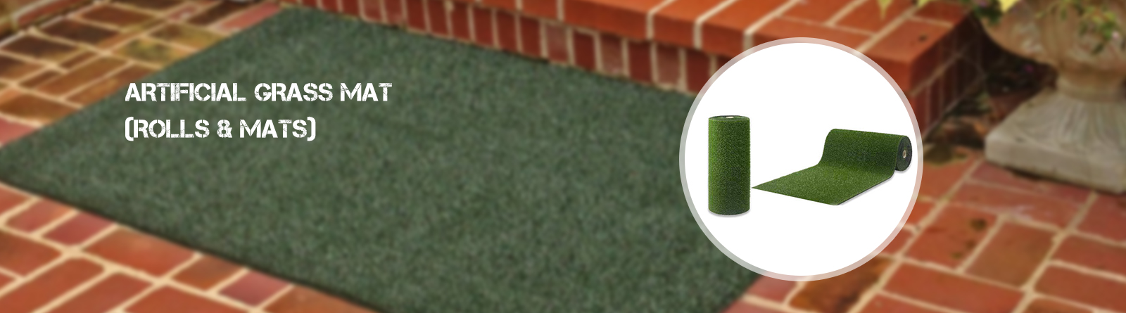 Artificial grass mat (Rolls & mats)